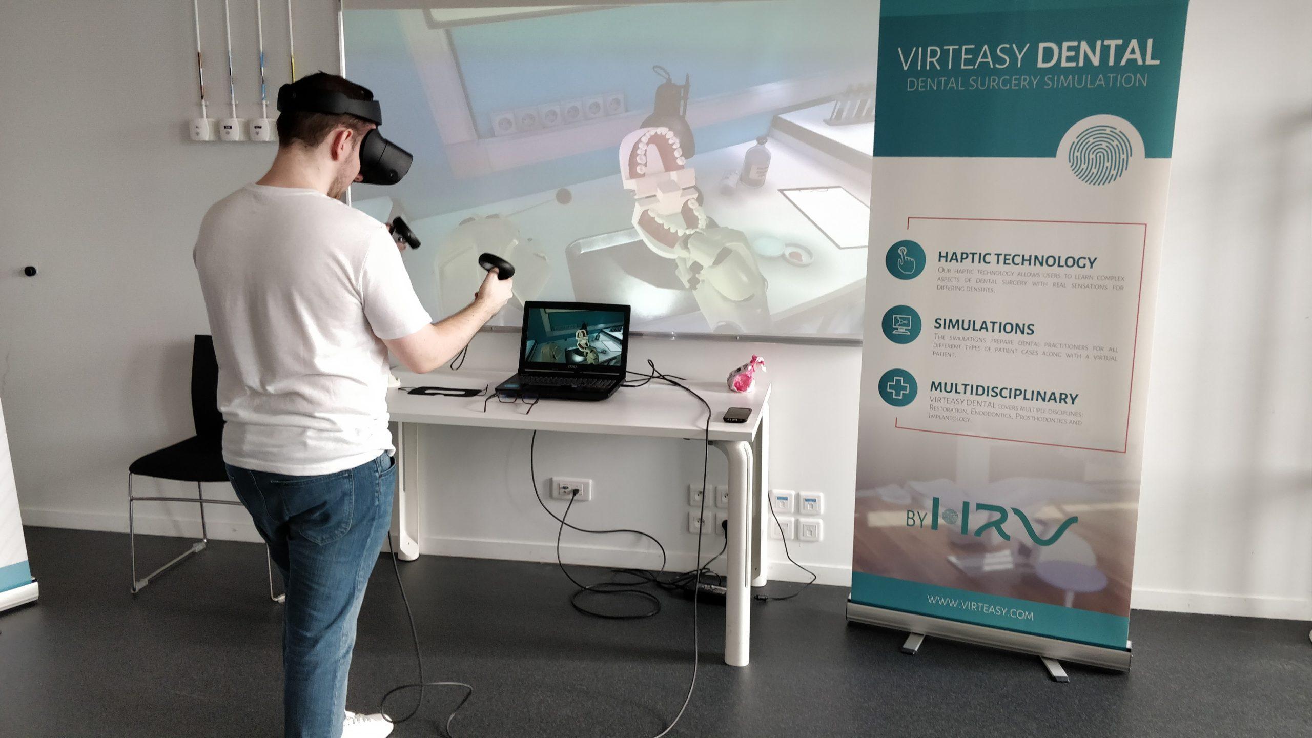 Man_Demo VR Virteasy Dental Unreal Engine